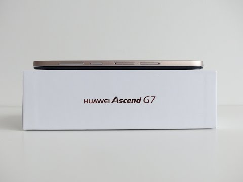 Huawei Ascend G7 unboxing