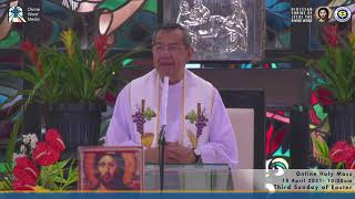 10:15 AM Holy Mass with Fr Jerry Orbos SVD - April 18 2021,  3rd Sunday of Easter