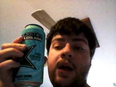 Deadcarpet Energy Drink Reviews - Rockstar Pina Co