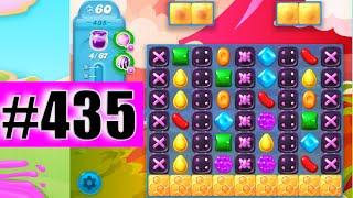 Candy Crush Soda Saga Level 435 NEW | Complete!
