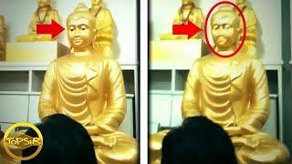 10 ปริศนารูปปั้นเคลื่อนไหวเองได้ ไม่เชื่อก็ต้องเชื่อ บรื๋อออ (มีหลอนแน่ๆ !!)