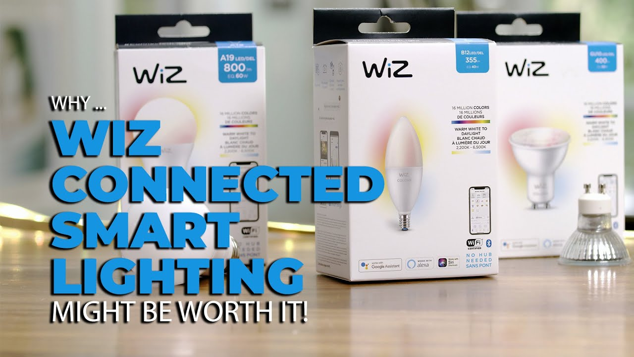 Wiz Connected Smart Lighting and is it Worth Buying? - GetConnected Media