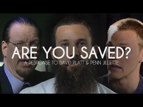 Are You Saved?    Response to David Platt & Penn Jillette    Tim Keller & Charles Spurgeon