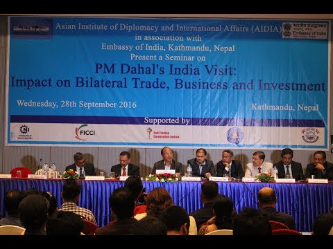 Seminar on PM Dahal's India Visit: Impact on Bilateral trade, Business and Investment