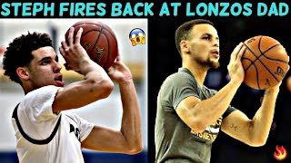 How Steph Curry ROASTED LONZO BALLS LIFE!! Why Lonzo MUST fix his jumpshot!!