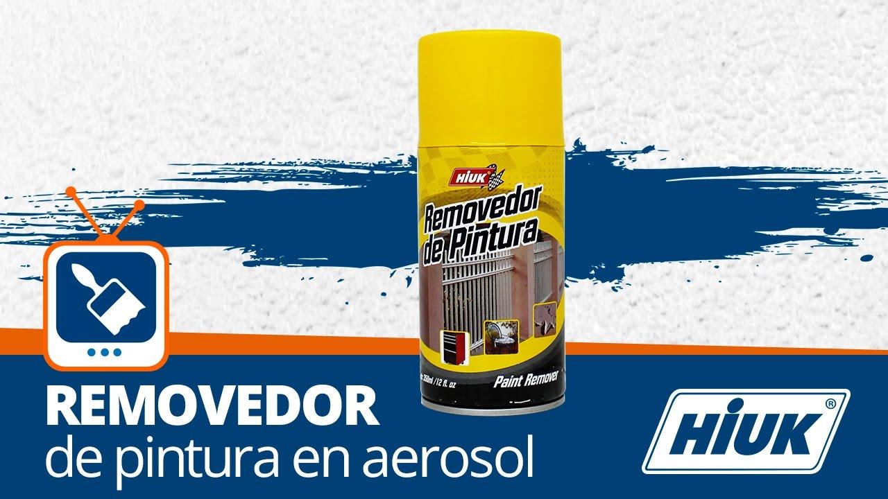 Rese a removedor de pintura en aerosol hiuk youtube - Pintura en spray para coches ...