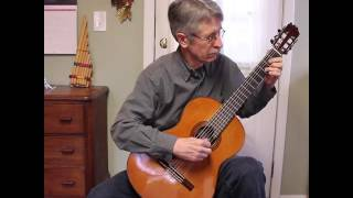 Scarborough Fair, for solo guitar