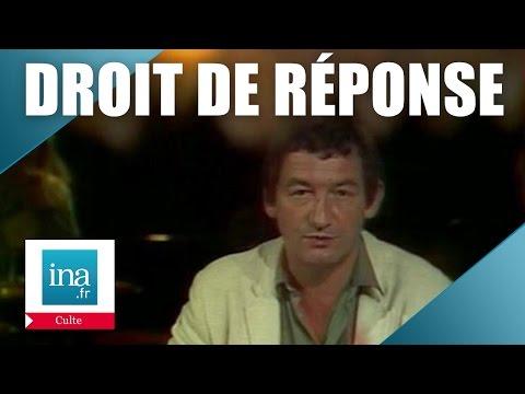 Droit De Réponse : Pierre Desproges et les sportifs | Archive INA