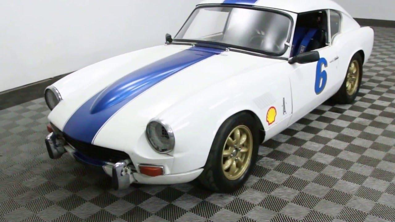 1967 Triumph GT6 race car for sale! - YouTube