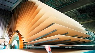 Amazing Plywood Manufacturing Process ! Extremely Fastest Large Woodworking Machinery