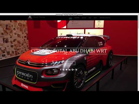 Citroen Total Abu Dhabi WRT Wordpress example site
