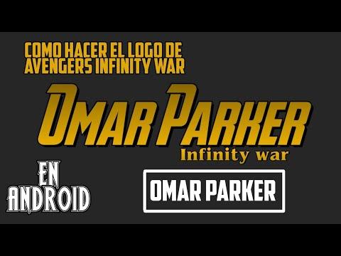 Como Hacer El logo De Avengers Infinity War En Picsart (Android)     Omar Parker.