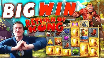 BIG WIN on Return of Kong Megaways - £5 Bet