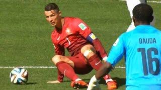 Cristiano Ronaldo Vs Ghana (Rare Clips) - WC 2014 HD 720p By zBorges