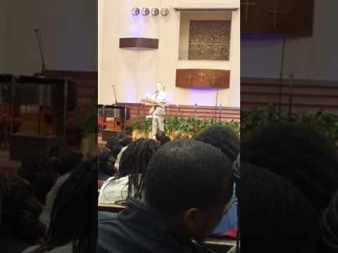 Al Sharpton speaking at Oakwood University sda church Huntsville Ala