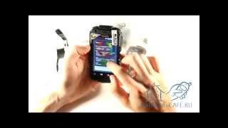 Видеообзор ударопрочного смартфона Land Rover Discovery V5 IP67 на Android 2.3