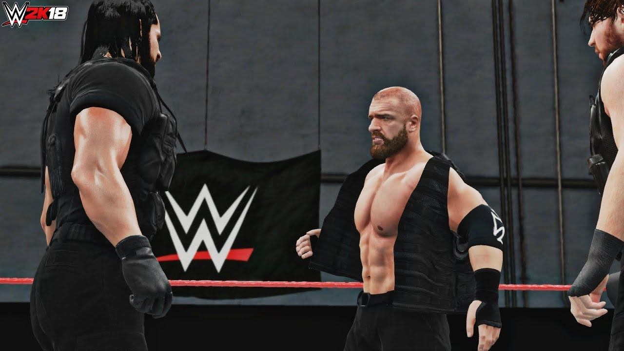 Download WWE 2K18: Triple H Joins The Shield (Live Event Recreation - Shhhield! - Glasgow) - PC