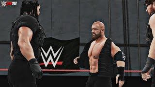WWE 2K18: Triple H Joins The Shield (Live Event Recreation - Shhhield! - Glasgow) - PC