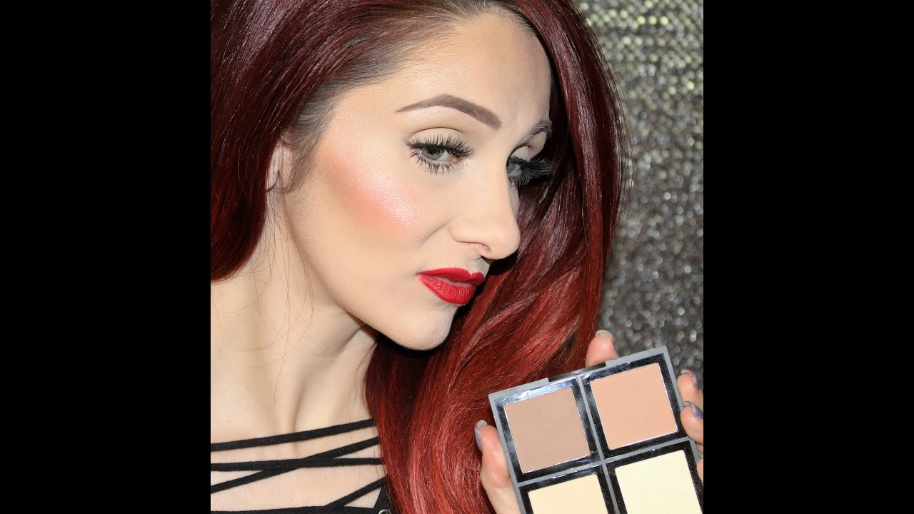 Powder Contouring With The New Elf Contour Palette For Beginners