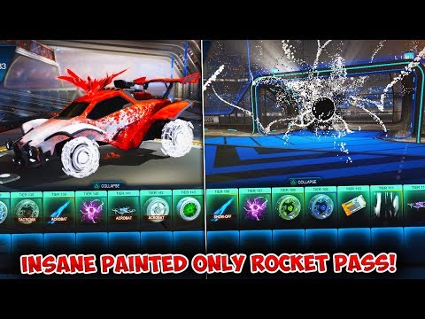 THIS ROCKET PASS TIER OPENING WAS ABSOLUTELY INSANE!! | Rocket League Rocket Pass 2 Update thumbnail