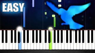 Naruto Shippuden Opening 3 - Blue Bird - EASY Piano Tutorial by PlutaX