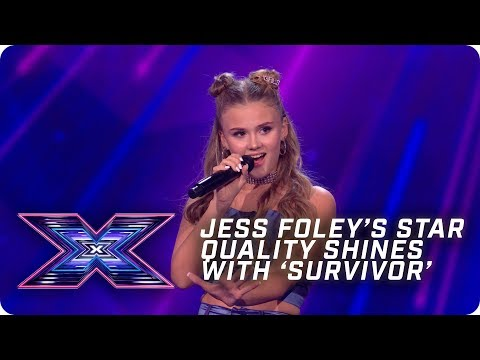 Jess Folley's star quality shines with 'Survivor'  | X Factor: The Band | Arena Auditions