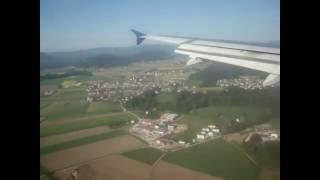 Nouvelair A320 landing at Ljubljana (LJU)