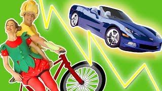 فوزي موزي وتوتي – الدراجة الهوائية – The bicycle