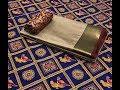 Plain Silk Cotton Sarees With Golden Embossed Border & Blouse || Stylish Silk Saree