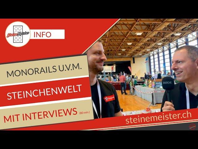 80 min Infos über Steinchenwelt mit Monorails, Interviews und Impressionen