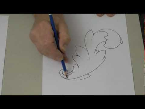 How to Draw and Carve an Acanthus Leaf - Woodcarving Workshops