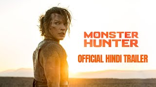 MONSTER HUNTER - Official Hindi Trailer | In Cinemas February 5