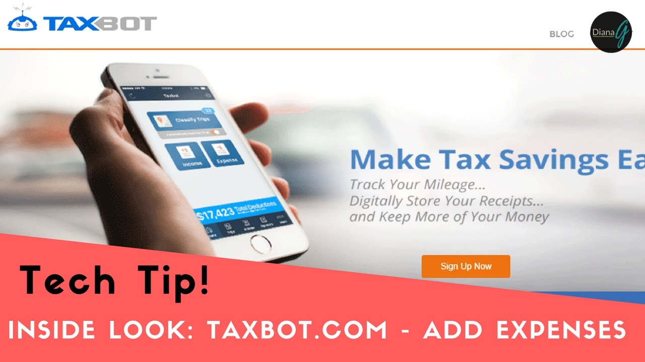 how to track small business expenses tax deductions using taxbot