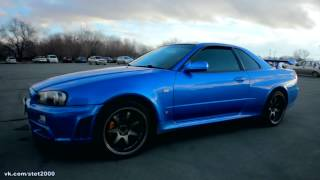 PitStop - Nissan Skyline GT-R машина Пола Уокера(тест драйв)