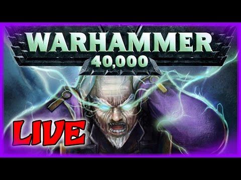Warhammer 40.000 Schattenjäger (Teil 1) – Pen & Paper Rollenspiel Livestream