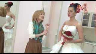 Свадебная прическа и макияж от салона