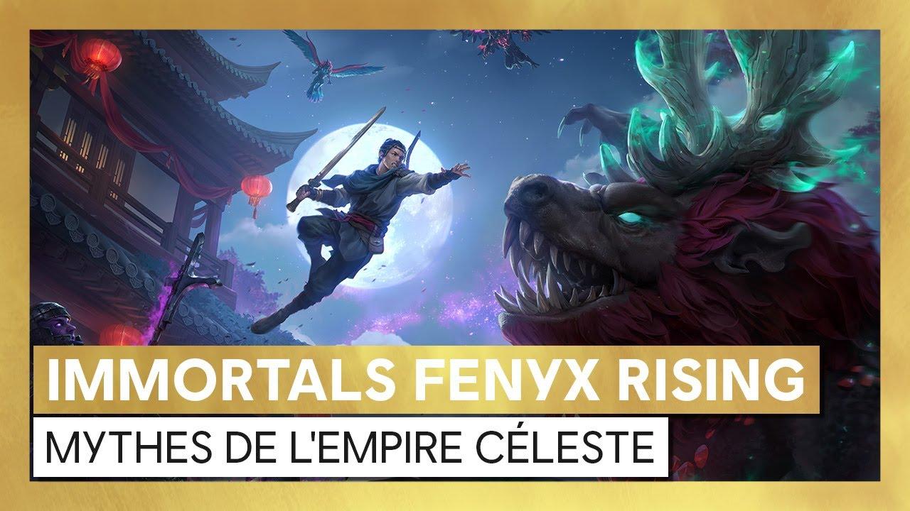 Immortals Fenyx Rising - Trailer de lancement Mythes de l'Empire Céleste