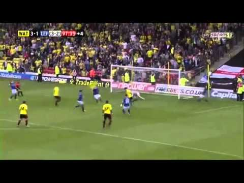 Watford-Leicester 3-1 last minute Watford epic goal!