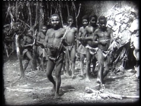 African Pygmies In 1938