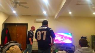 Patriots Fans and a Dog React to Final Minutes of Super Bowl 51 vs. Falcons