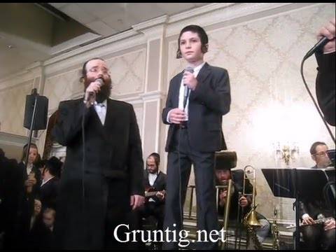 Shloime Taussig With Wonder Boy Yitzi Rosinger - Ribono Shel Olam ילד הפלא יוצי רוזינגר