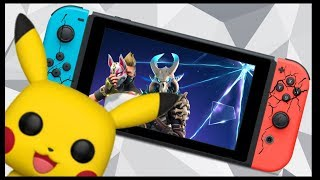 Switch Cracks, Fortnite S5, Splatoon 2 vs Hackers and Funko from Pikachu!