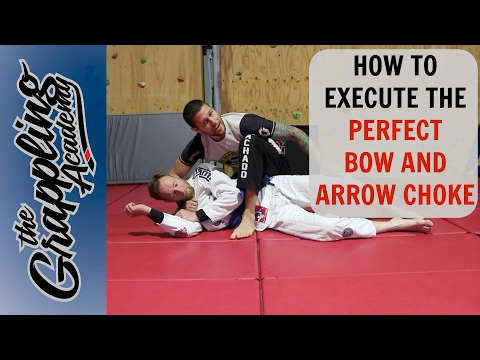 HOW to Execute the PERFECT BOW & ARROW Choke!