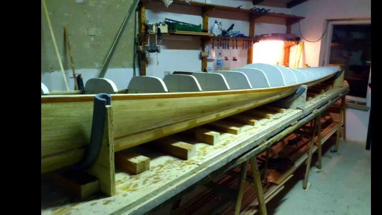 Bootsbau Holzleisten-Kayak In Wood-Strip-Bauweise Teil 2. - Youtube