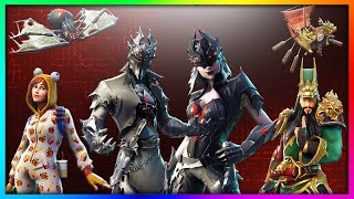 "LEAKED ""Spider Knight, Arachne & Guan Yu!"" NEW Legendary Skins in Fortnite: Battle Royale SEASON 6"