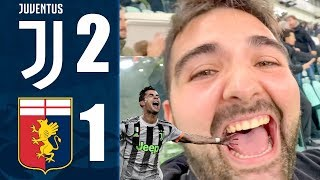 SIUUUUUUUUUU!!! JUVENTUS 2-1 GENOA | REACTION ALLIANZ STADIUM