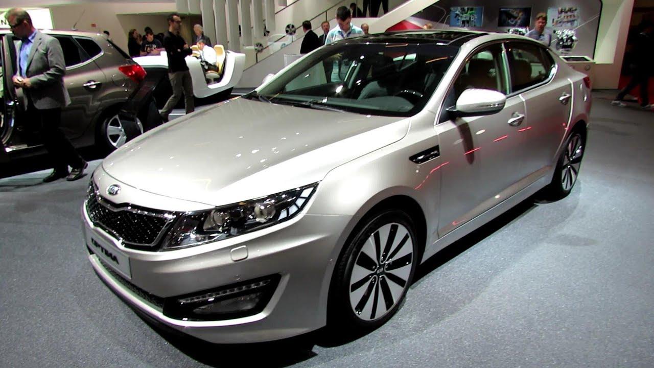 2013 Kia Optima Diesel Exterior And Interior Walkaround
