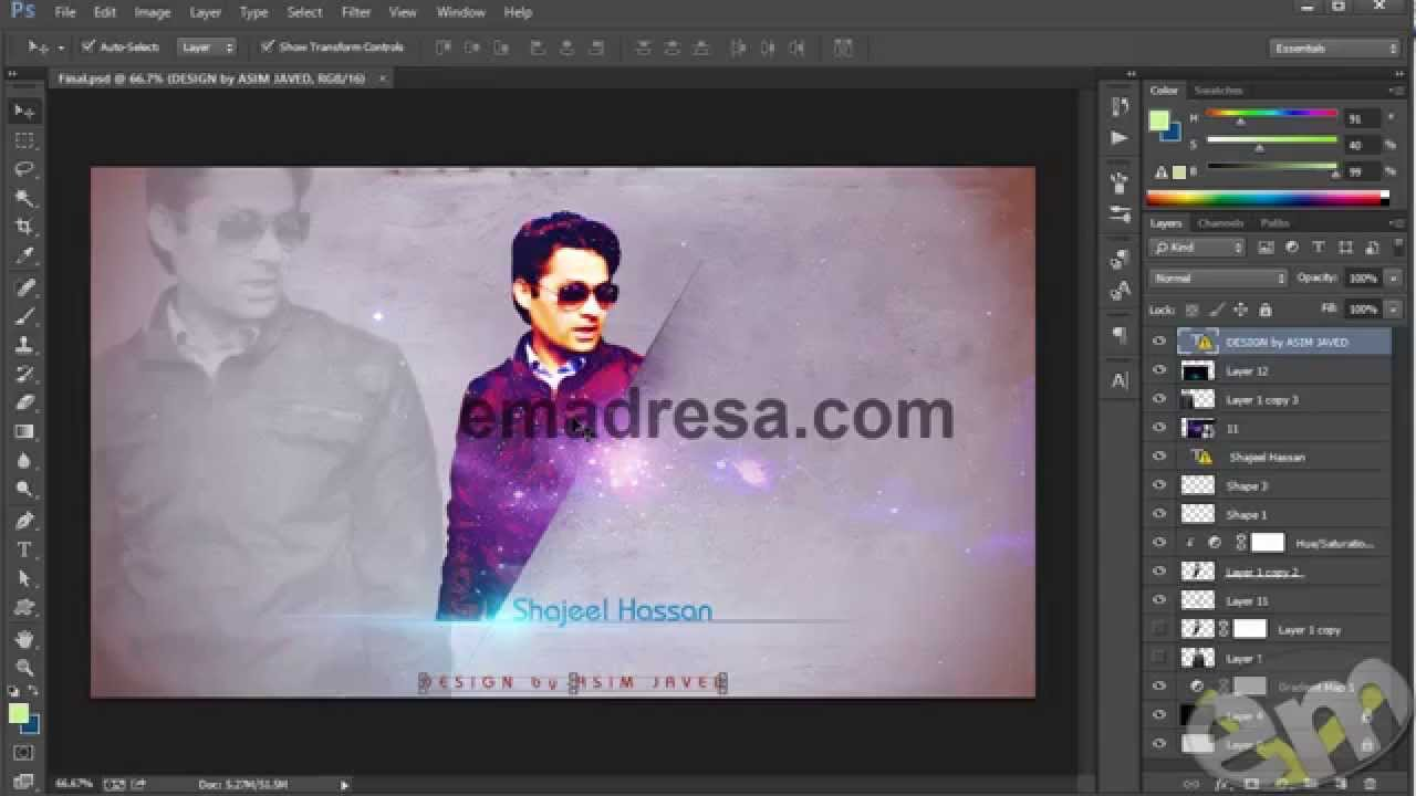 Strong picture effect in photoshop cc urdu tutorial youtube strong picture effect in photoshop cc urdu tutorial baditri Choice Image