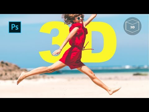 How to Create 3D facebook photos with Photoshop thumbnail
