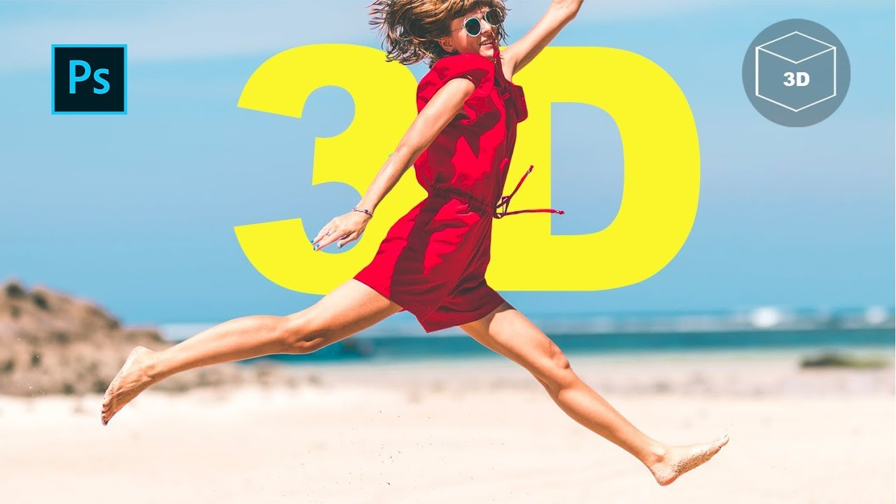 How to Create 3D facebook photos with Photoshop